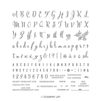 Aus der Kreativwerkstatt Photopolymer Stamp Set (German)