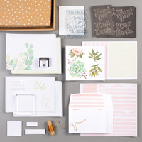 pink and green leaf kit