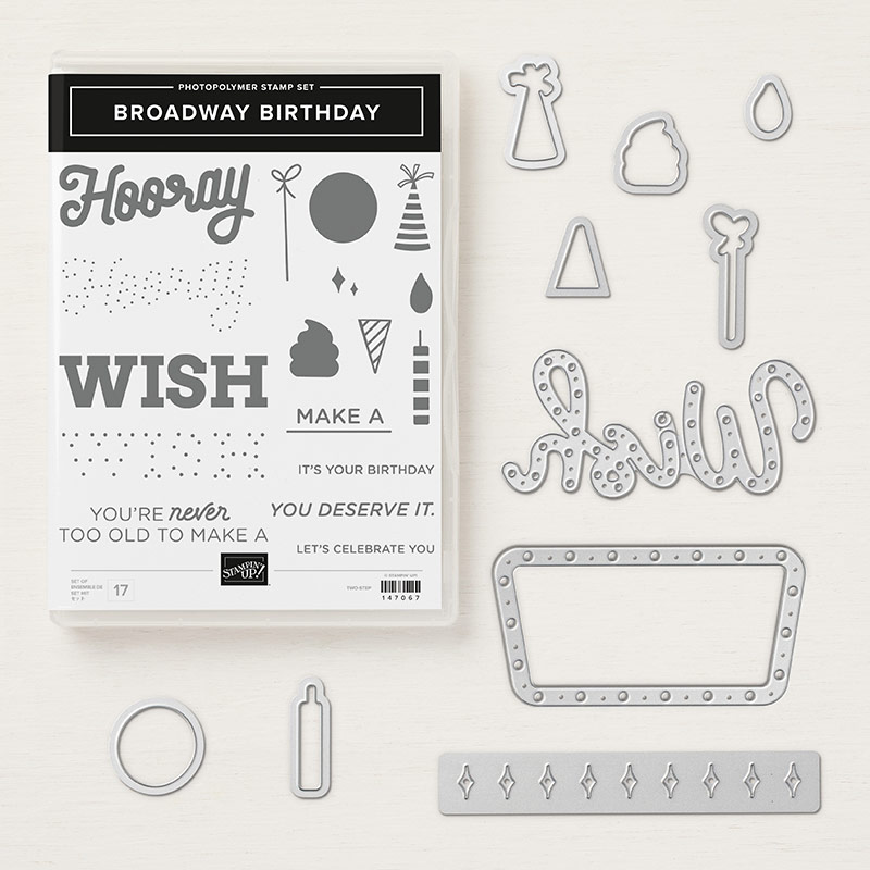 Broadway Birthday Photopolymer Bundle