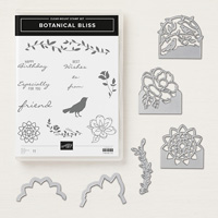 botanical stamp set