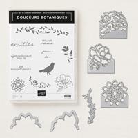 Douceurs botaniques Clear-Mount Bundle (French)