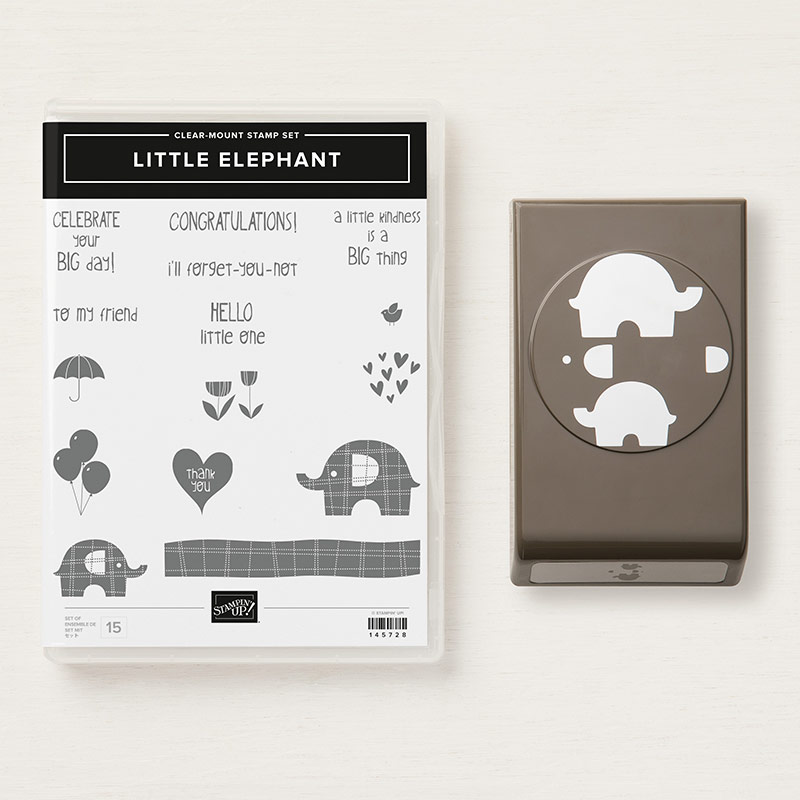 Little Elephant Clear-Mount Bundle