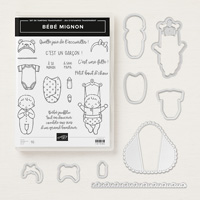 Bébé mignon Clear-Mount Bundle (French)