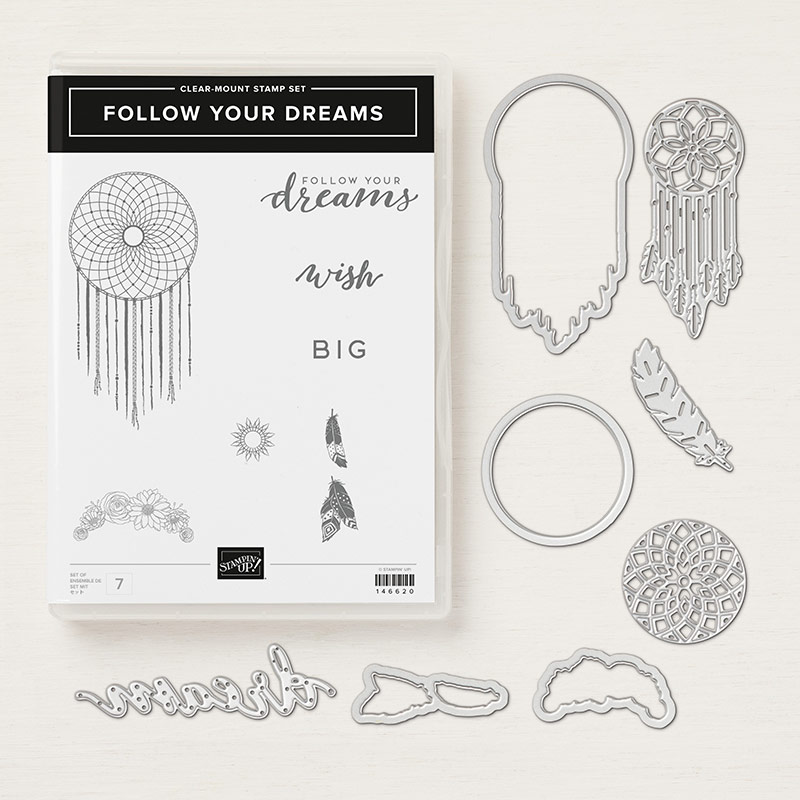 Follow your Dreams Clear-Mount Bundle