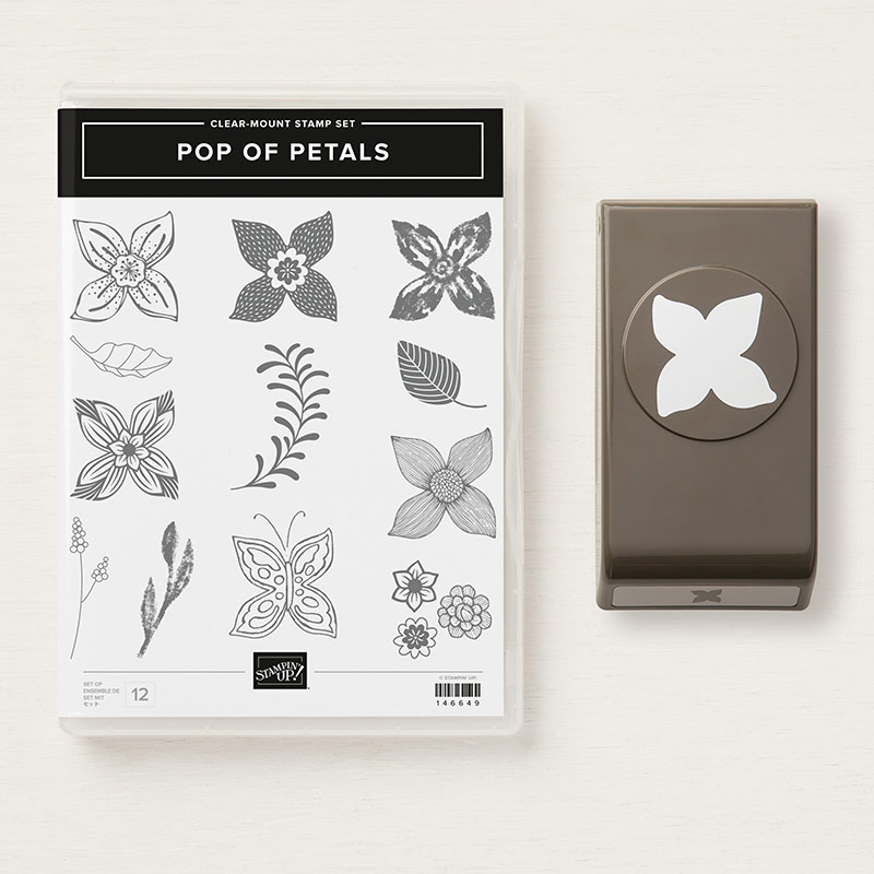 Pop of Petals Clear-Mount Bundle