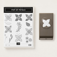 flower petal stamps and punch