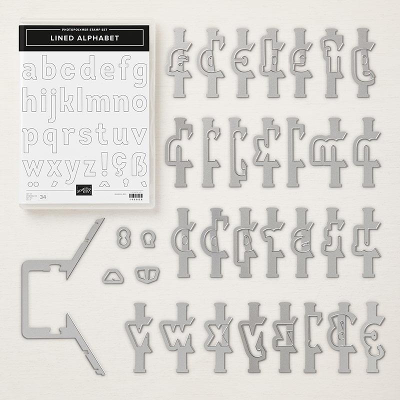 Lined Alphabet Photopolymer Bundle
