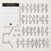 Lined Alphabet Photopolymer Bundle