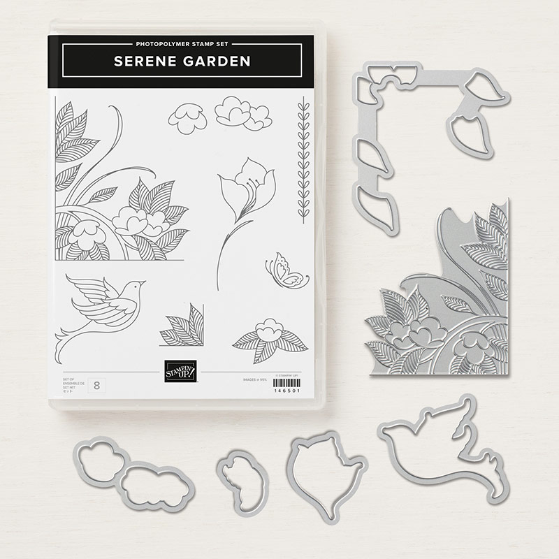 Serene Garden Photopolymer Bundle