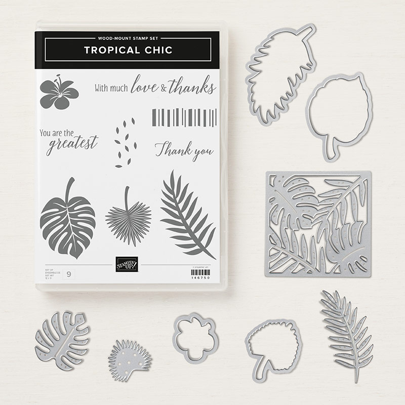 Tropical chic Wood-Mount Bundle