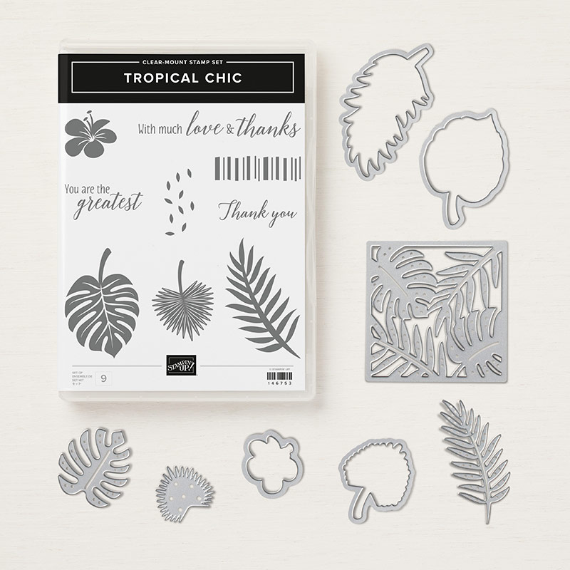 Tropical Chic Clear-Mount Bundle