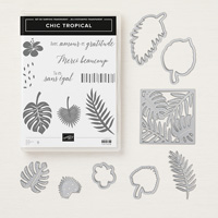 Chic tropical Clear-Mount Bundle (French)