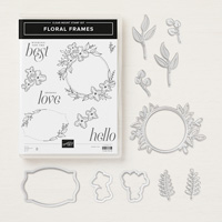 Floral Frames Clear-Mount Bundle