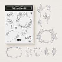 Floral Frames Clear-Mount Bundle