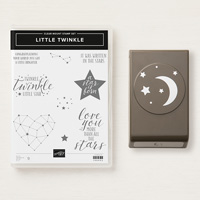moon and stars punch and stamp set