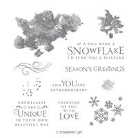 Beautiful Blizzard Wood-Mount Stamp Set