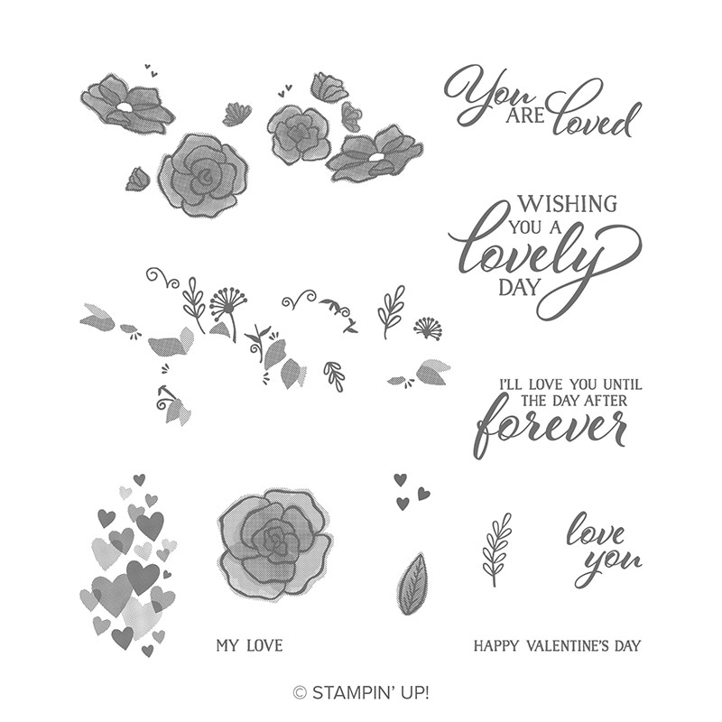Forever Lovely Photopolymer Stamp Set
