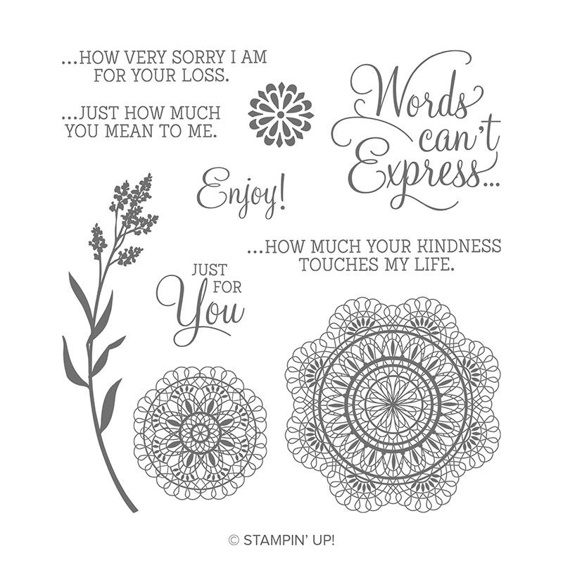Dear Doily Cling Stamp Set
