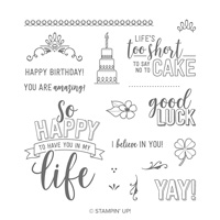 life and luck stamp set