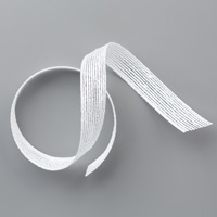5/8 white open-weave ribbon