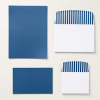 royal blue cards and envelopes