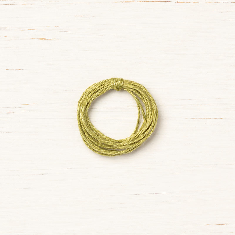 olive green crafting thread