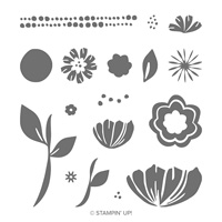 custom flower stamp set