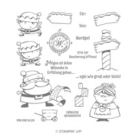 Weihnachtswerkstatt Photopolymer Stamp Set (German)