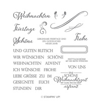 Weihnachtliche Vielfalt Photopolymer Stamp Set (German)