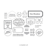 Schöner Schenken Photopolymer Stamp Set (German)