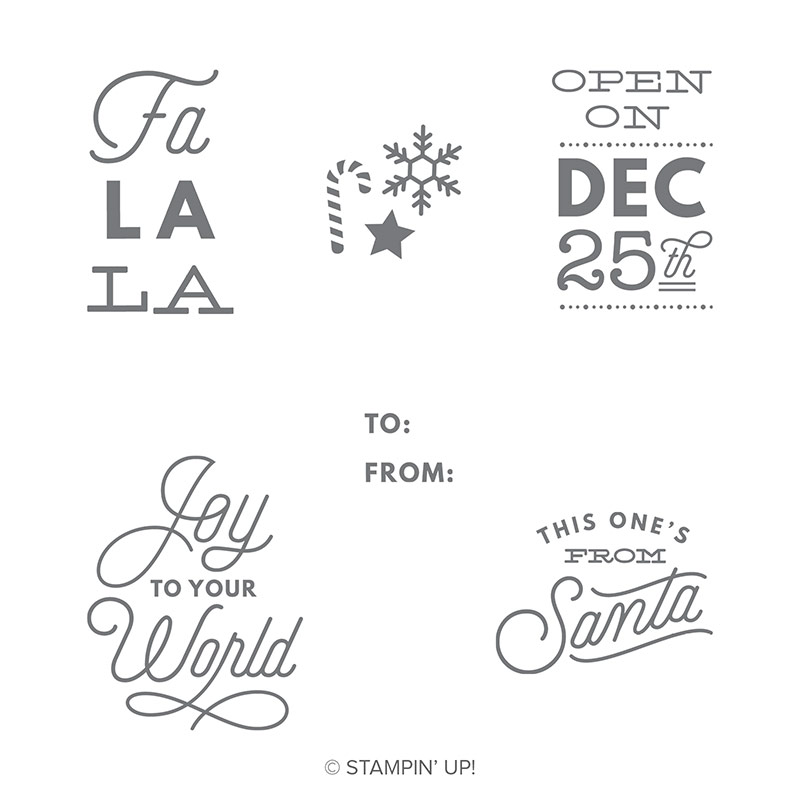 Sincerely Santa Clear-Mount Stamp Set