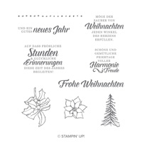 Zauber von Weihnachten Clear-Mount Stamp Set (German)