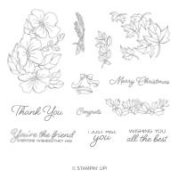 Blended Seasons Clear-Mount Stamp Set