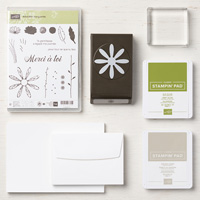 Adorable Marguerite Cards Supplies Set (French)