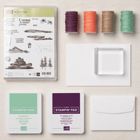 Au Bord de l'eau Cards Supplies Set (French)