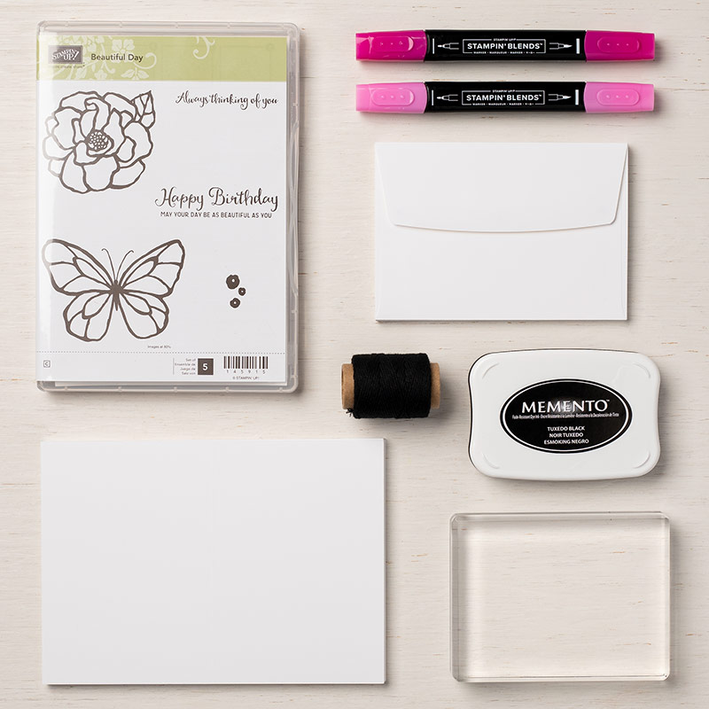 Beautiful Day Cards Supplies Set