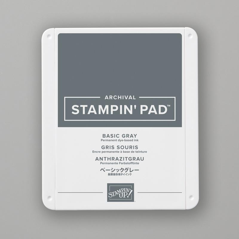 Tampon encreur Classic Gris de base