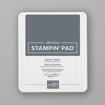 grey stamp pad