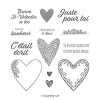 C'Était Écrit Cling Stamp Set (French)