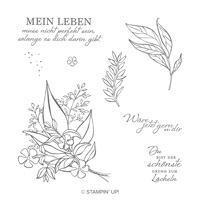 Grund Zum Lächeln Cling Stamp Set (German)