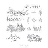 BLOOM & GROW PHOTOPOLYMER STAMP SET