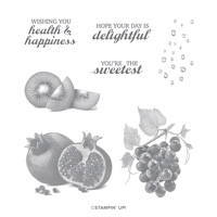 SLICE OF HAPPINESS CLING STAMP SET