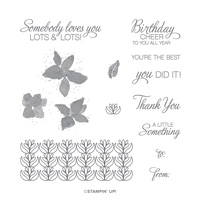 PARCELS & PETALS CLING STAMP SET