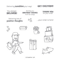 YOU ALWAYS DELIVER PHOTOPOLYMER STAMP SET