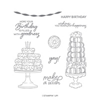 BIRTHDAY GOODNESS CLING STAMP SET