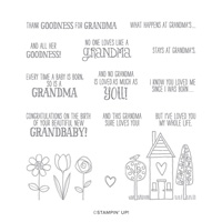 GRANDMA'S HOUSE CLING STAMP SET