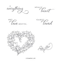 YOU ARE SO LOVED CLING STAMP SET