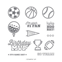 FOR THE WIN CLING STAMP SET