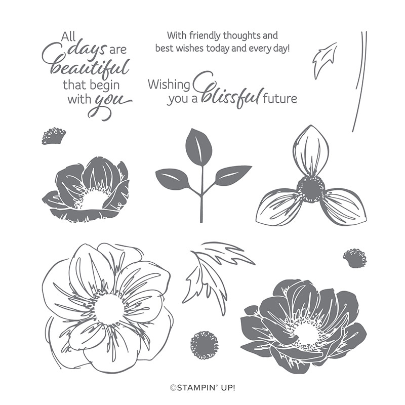 Floral Essence stamp set