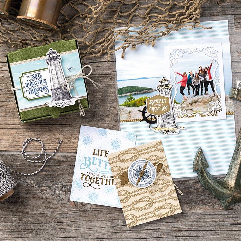Come Sail Away Designer Series Paper